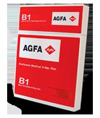 AGFA Ortho CP-GU Universal X-ray Film  High Speed, Green Sensitive