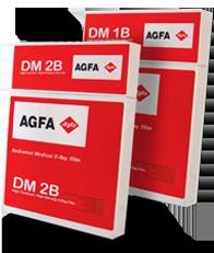 AGFA DM 1B and DM 2B  X-ray Film  High Contrast, High Density