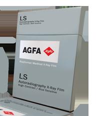 AGFA Radiomat LS Autoradiographic  High Contrast / Blue Sensitive