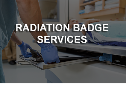 radiation badge service